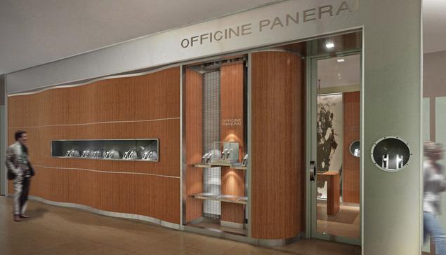 Officine Panerai : de nouvelles boutiques dans le monde entier
