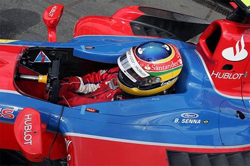 Bruno Senna, le neveu d'Ayrton, partenaire d'Hublot