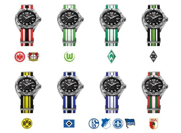 TAG Heuer : la montre de la Bundesliga