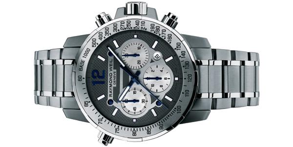 Nabucco : Raymond Weil propose son chronographe dans une version titane et acier