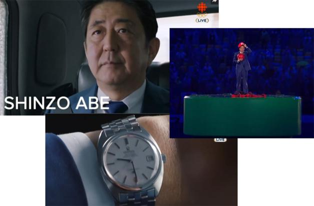 Vidéo de JO de Tokyo 2020 : Shinzo Abe porte une Omega vintage