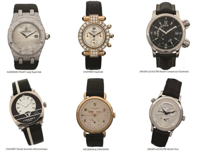 Vente aux enchères de montres de luxe au Crédit Municipal de Paris