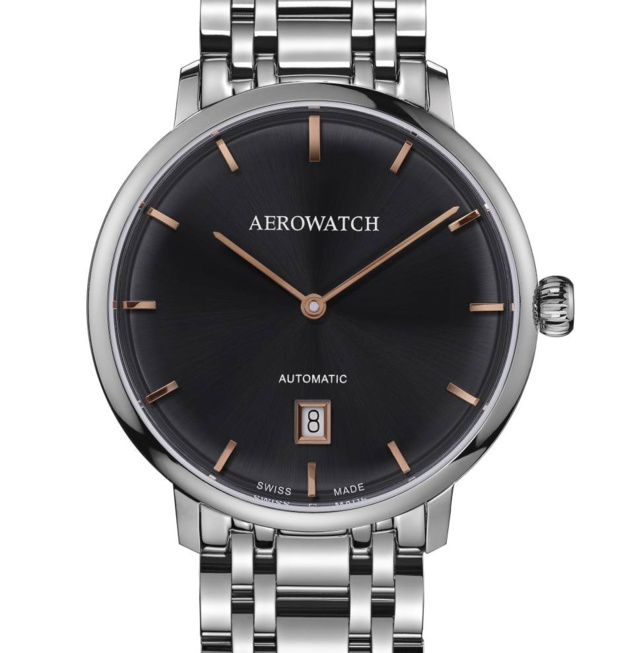 Aerowatch Heritage Slim : l'extraplat abordable