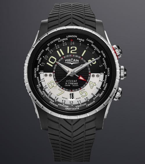 Vulcain cricket GMT X-Treme : de Paris à Sydney en passant par Tokyo ou New York, l'heure du monde à votre poignet