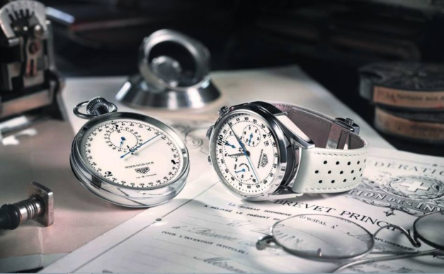 TAG Heuer Carrera Mikrograph Edition anniversaire : chrono modulaire