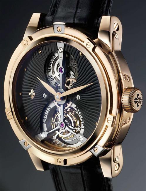 Louis Moinet présente Vertalis, son tourbillon exclusif réalisé en série limitée de douze montres