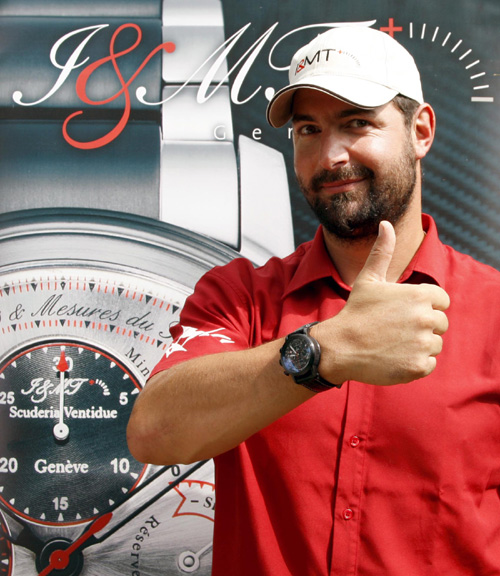 Xavier Rosset et sa Scuderia22 Instruments et Mesures du Temps