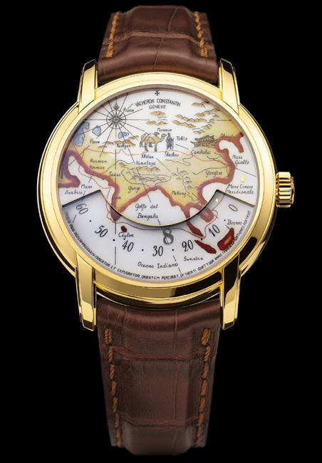 Vacheron Constantin rend hommage à Marco Polo et Christophe Colomb et fait voyager l'heure…