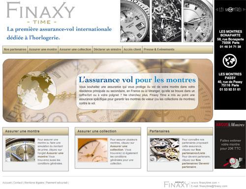 Finaxy Time lance la première « assurance montre »