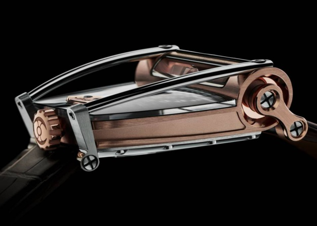 """Horological Machine N°8 """"Can-Am"""" : puissance et transparence"""