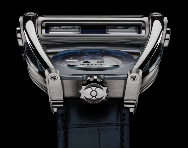 "Horological Machine N°8 ""Can-Am"" : puissance et transparence"