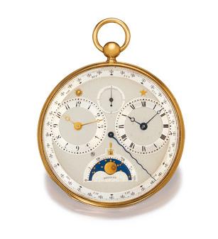 Breguet no 2807 vendue au Général Yermoloff le 26 août 1817 pour 4.000 Francs