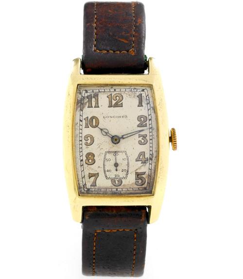 La montre Longines d'Albert Einstein (photo Antiquorum)