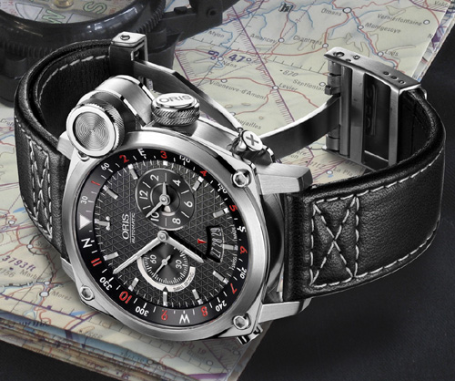 Oris BC4 Flight Timer : un « total look » aéronautique au poignet