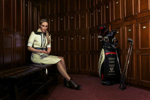 Richard Mille et Diana Luna, son ambassadrice au Lacoste Ladies Open