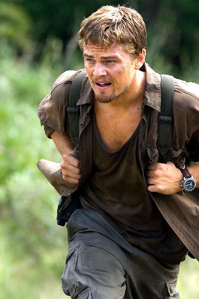 Leonardo di Caprio dans Blood Diamond porte une Breitling chrono Avenger
