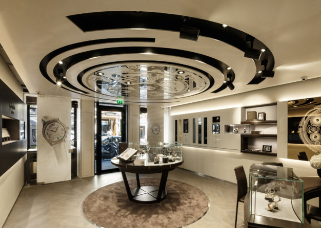 Glashütte Original ouvre à Paris, rue de la Paix