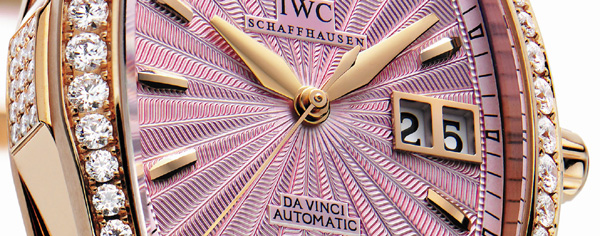Ladylike : la Da Vinci Automotic d'IWC arrive avec de nouveaux coloris et de prestigieux brillants