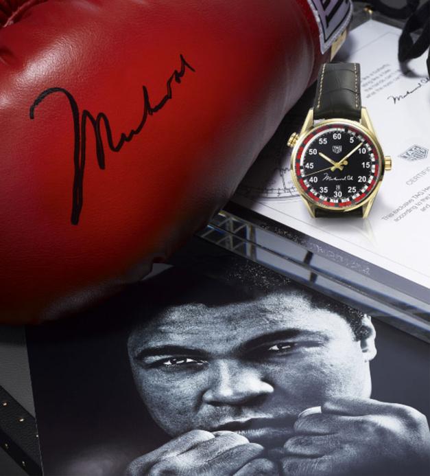 TAG Heuer rend hommage à Mohamed Ali