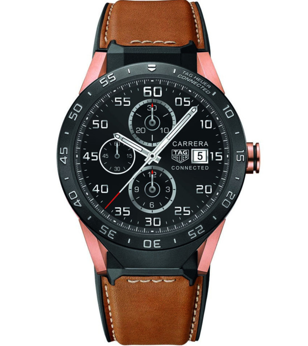 TAG Heuer Connected : smartwatch en or rose
