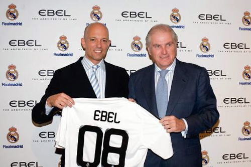 Le Real Madrid rejoint Ebel et aura sa propre montre en octobre 2009 !