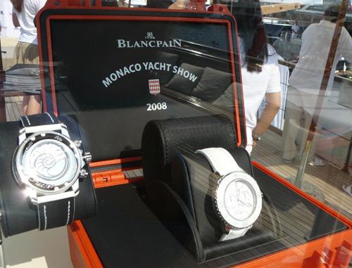 Blancpain présente sa nouvelle Fifty Fathoms série limitée Monaco Yacht Show
