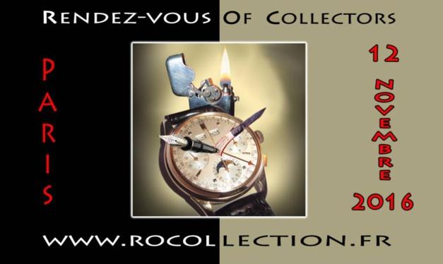 Rocollection, le 12 novembre à Paris : montres, briques, stylos et couteaux anciens