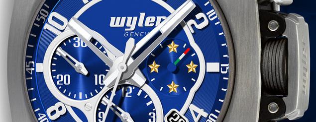 Wyler Genève présente la montre officielle de l'équipe nationale de football d'Italie