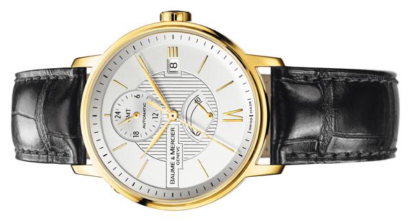 Classima Executives Baume et Mercier : une collection classique où l'or règne en maître…