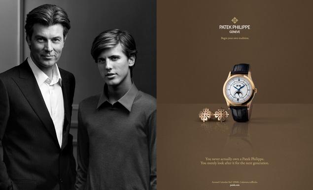 Patek Philippe lance une toute nouvelle interprétation de sa campagne publicitaire « Générations »