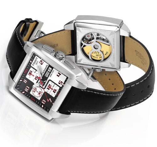 Tissot Quadrato : un nouveau chronographe automatique qui ne passe pas inaperçu…