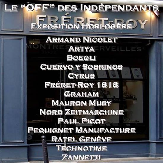"""Fréret-Roy : le """"Off des Indépendants"""""""