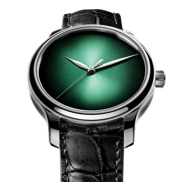 Moser Endeavour Centre Seconds Concept Cosmic Green