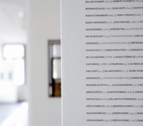 Ecole horlogère de Glashütte : le nom des horlogers qui sont passés par cette formation...