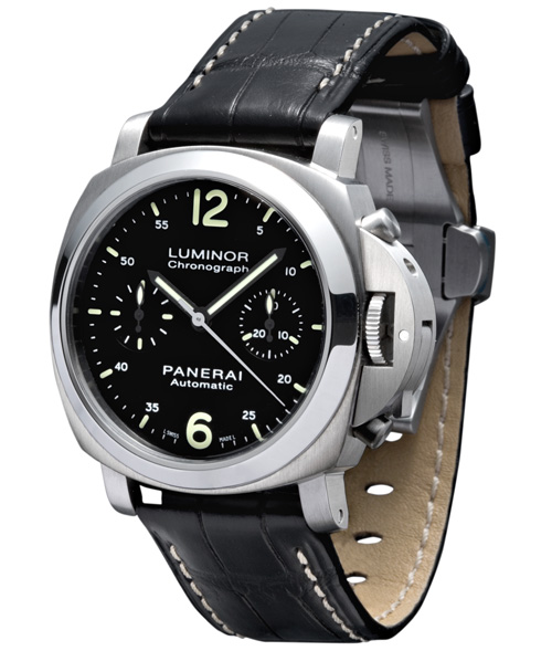 La Luminor Chronographe d'Officine Panerai est désormais disponible en 40 mm