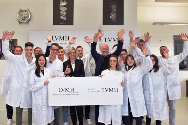 TAG Heuer et Zenith créent l'Ecole d'Horlogerie LVMH