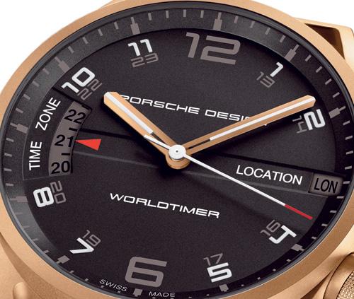 Porsche Design Worldtimer P'6750 : cet imposant modèle revient dans une version en or rose