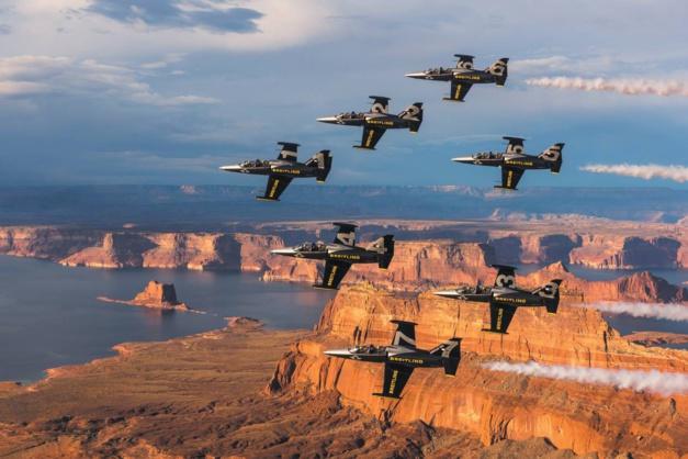 La Breitling Jet Team a conquis l'Amérique
