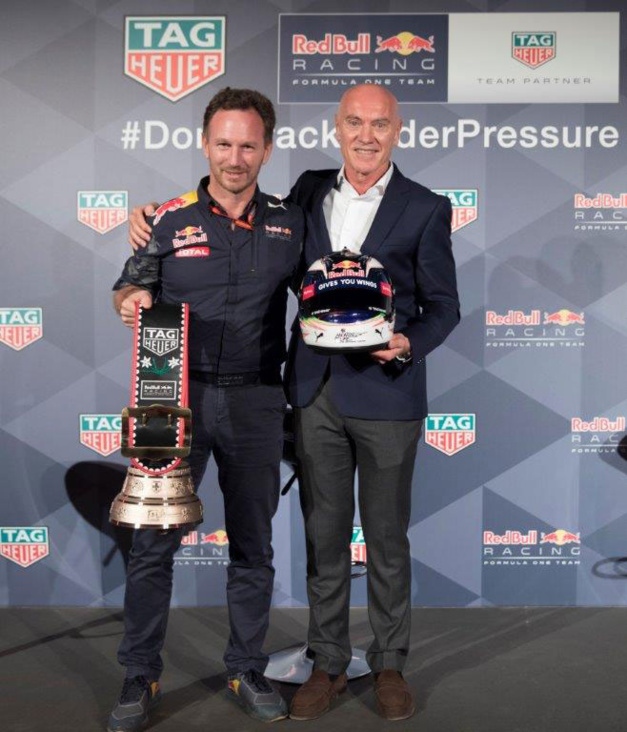 Formule 1 : TAG Heuer prolonge son partenariat avec Red Bull Racing