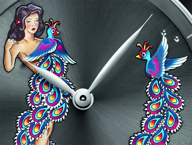 Ulysse Nardin Hourstriker Pin-Up : l'heure coquine !
