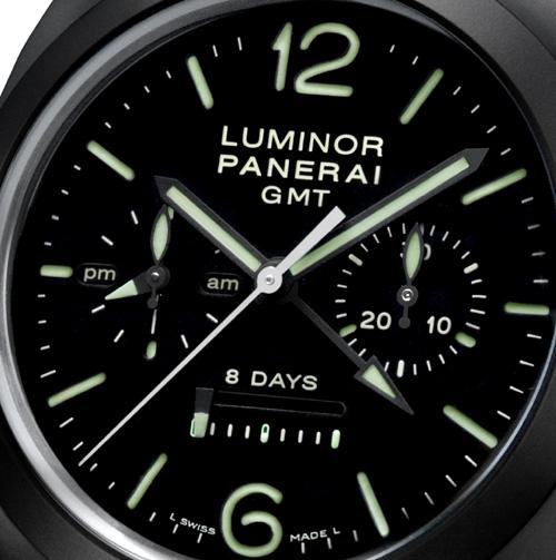 Luminor 1950 : un chrono monopoussoir en céramique fait son apparition chez Panerai