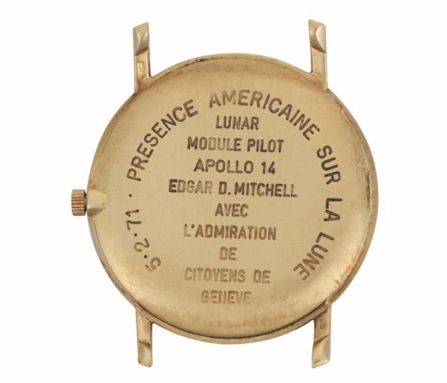Christie's présente la Vacheron Constantin Apollo 14 d'Edgar Mitchell