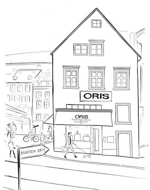 Oris ouvre une boutique exclusive à Bâle