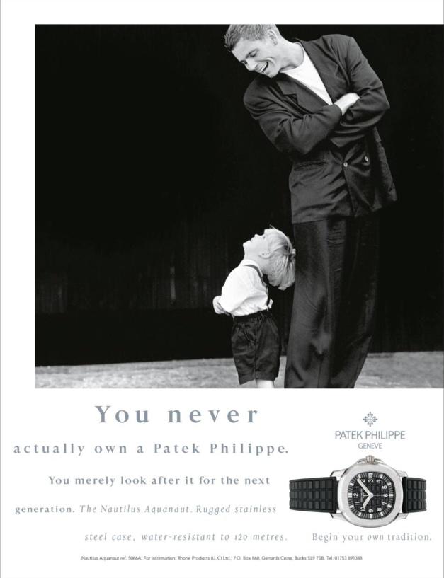 Patek Philippe, sa campagne Générations a 20 ans et son magazine aussi !