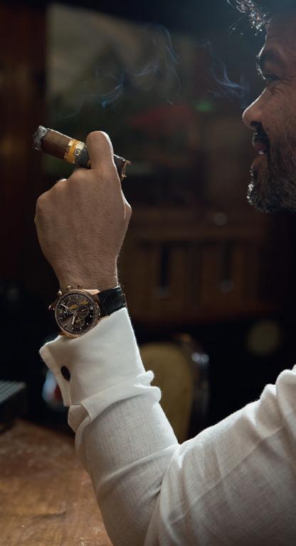 Zenith El Primero Legend of Cohiba : pour fumeurs de havanes