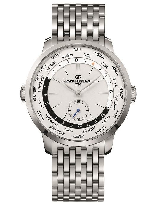 Girard-Perregaux 1966 WW.TC : une heure du monde d'une grande pureté