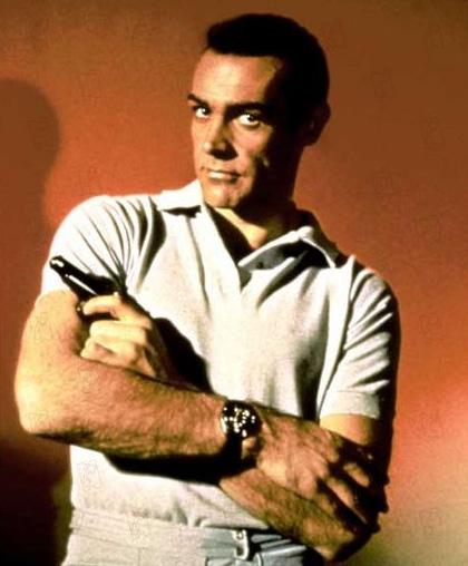 Bons baisers de Russie : Sean Connery porte une Rolex Submariner