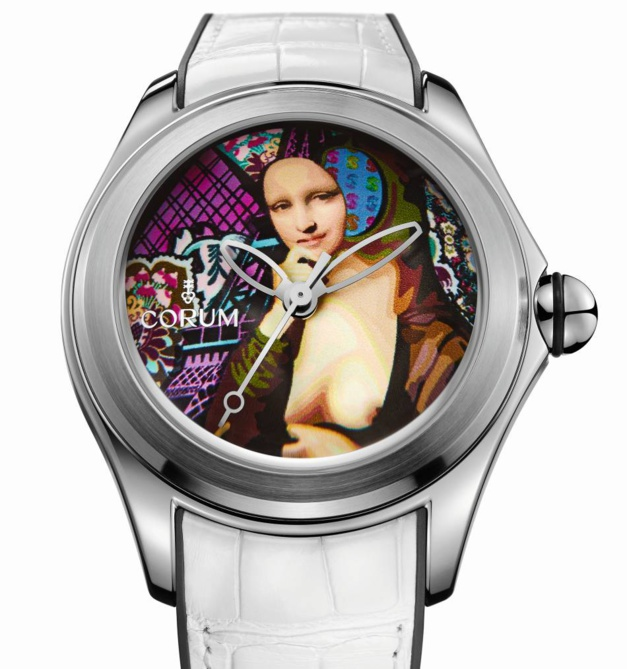 Corum Bubble by Elisabetta Fantone