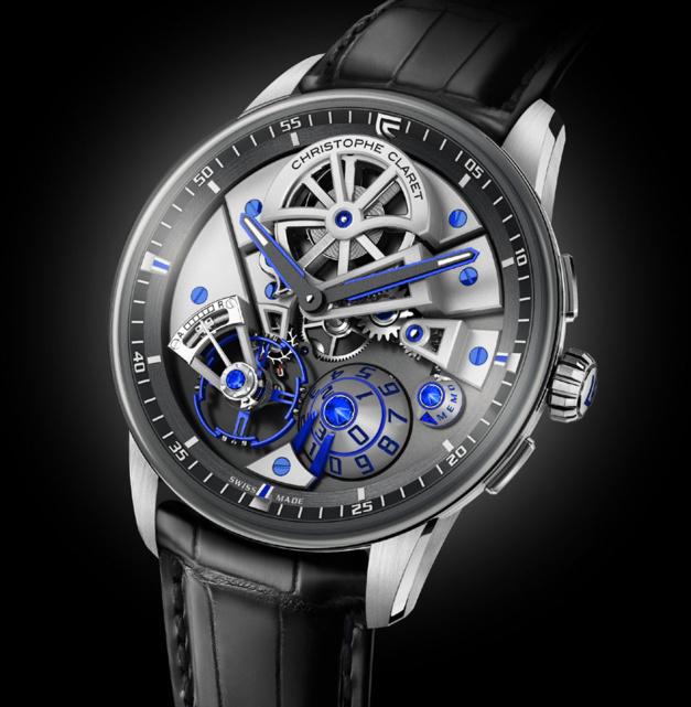 Christophe Claret Maestro : maitrise de haute horlogerie