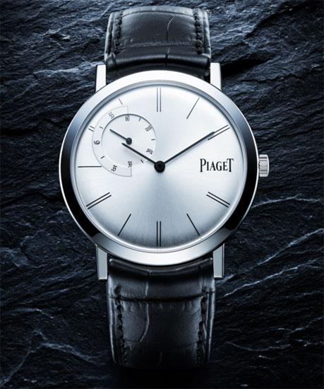 Montre de l'année 2008 : le prix revient à… l'Altiplano petite seconde excentrée de Piaget